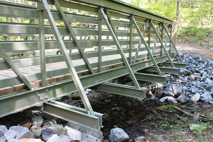 Bedford Reinforced Plastics' ReadySpan bridge solution.
