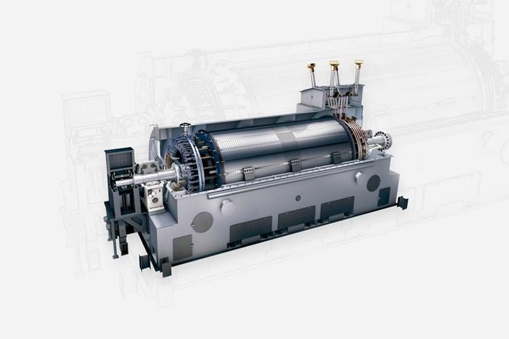 西门子能源发电机。gydF4y2Ba