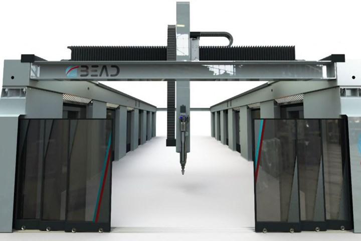 BEAD hybrid additive subtractive manufacturing machine