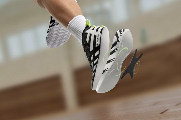 Composite basketball shoe concept.