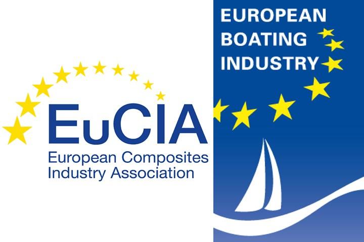 EuCIA, EBI logos.