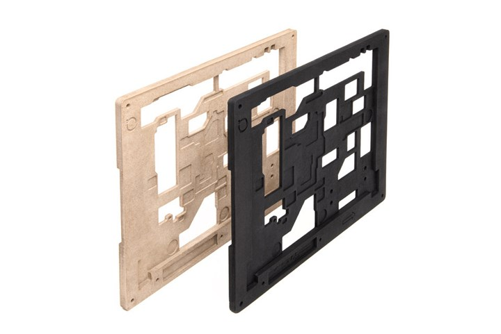 Impossible Objects 3D-printed solder pallets.