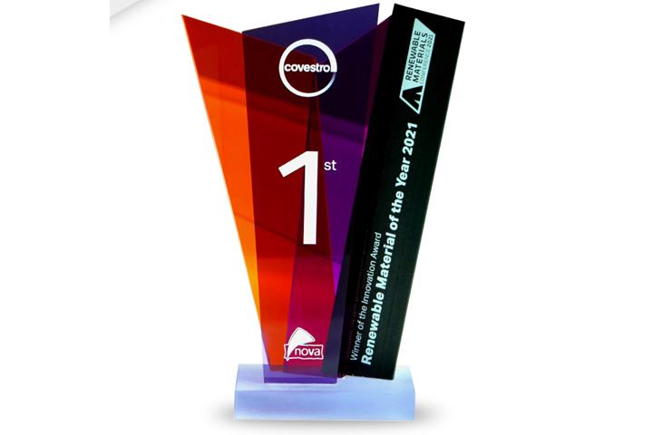 Innovation Material award 2021.
