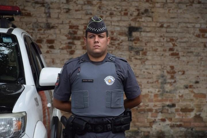 São Paulo police force composite armor vests.