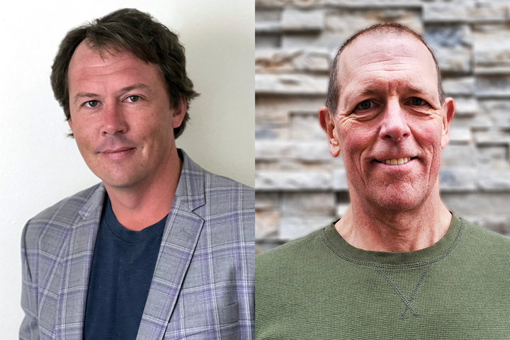 Teton Simulation's Doug Kenik (left) and Mike Kmetz (right).