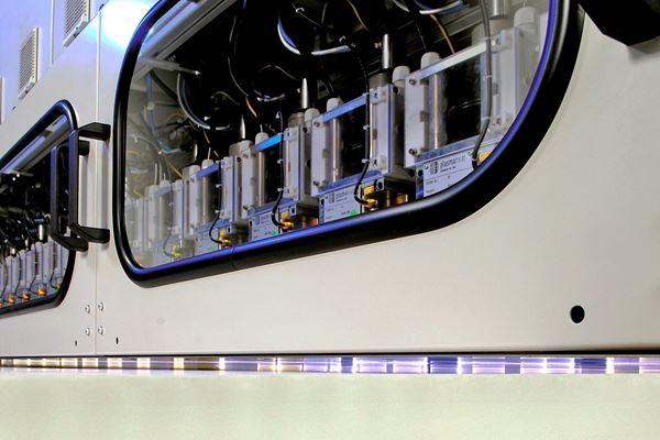 大气等离子体射流技术快速预处理玻璃纤维蜂窝夹芯板图像