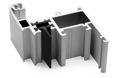 Technoform thermal break for aluminum window frames