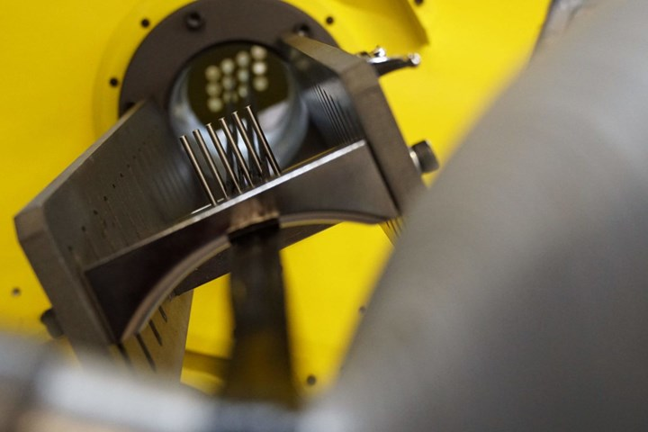 Engineering Technology Corp. filament winding close-up