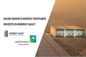 Aramco资金加速了全球,可持续能源存储技术的部署