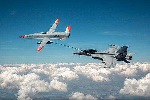 美国海军,波音传导第一架航空加油
