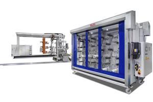 罗斯复合材料机械公司提供定制的纤维缠绕系统