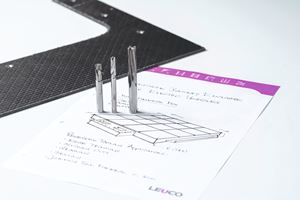 Leuco PCD刀具表面质量高,使用寿命长