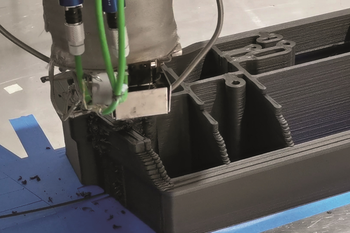 CMS Ares Kreator composite 3D printing machine