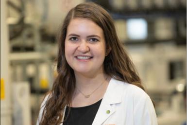 Lauren Slann, 2021Dr. Jackie Rehkopf Scholarships winner.