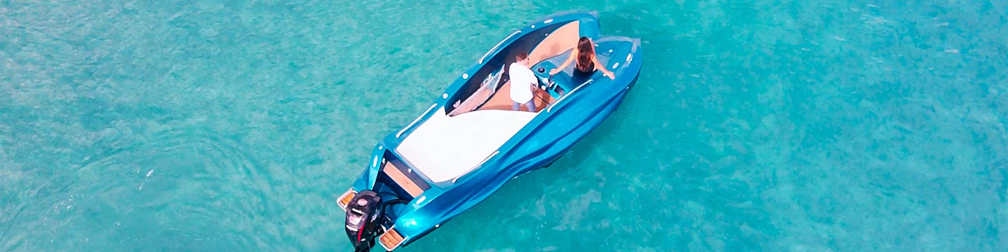 MAMBO 3D打印玻璃纤维摩托艇