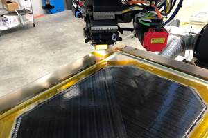 Electroimpact, Toray, Janicki先进技术,快速,大规模的热塑性零件制造