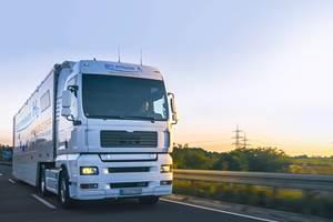 海克斯agon Purus,巴拉德为6级燃料电池电动卡车提供动力