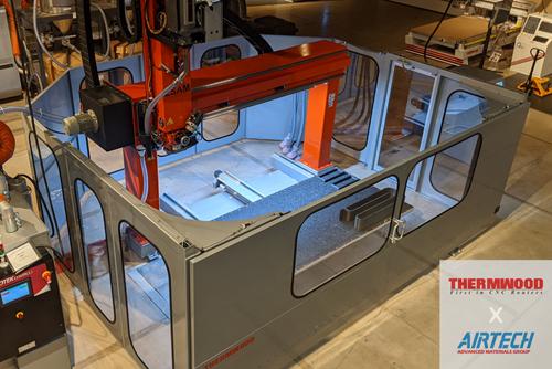 Airtech树脂被批准用于Thermwood 3D打印机