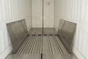 冷藏轨道车地板扩展复合材料视野图像