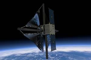 美国宇航局选择火箭实验室发射复合太阳帆