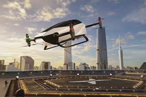 HT Aero进一步发展碳纤维电动城市飞机
