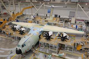 Airbus delivers first A400M to the Belgian Air Force