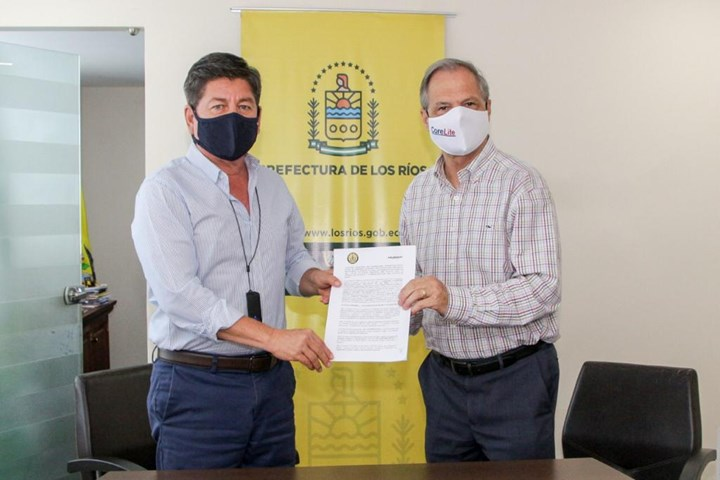 CoreLite signs agreement with Los Rios province government