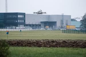 FACC begins EHang 216 flight tests