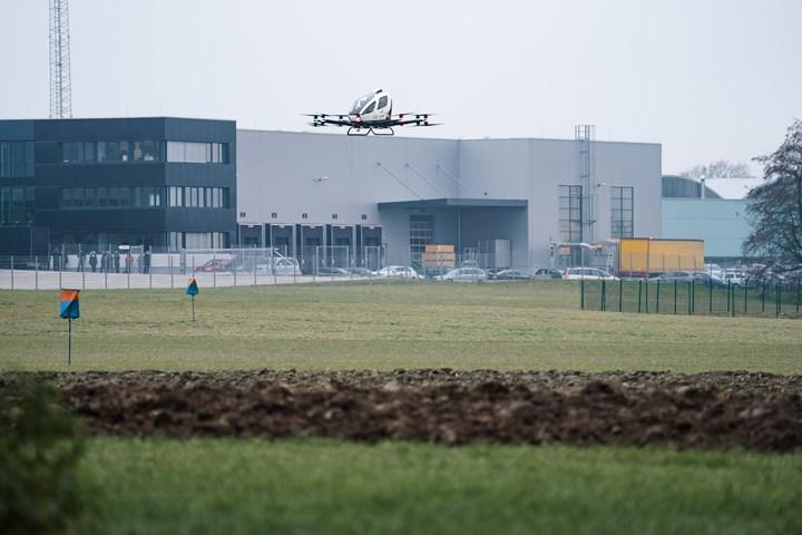 EHang 216 autonomous aircraft