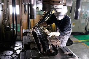 Carbon fiber automotive parts production industrialized via C-RTM process