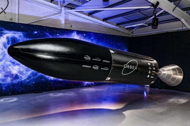 Orbex Prime rocket.