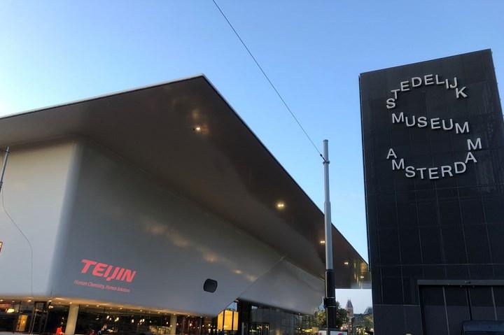 Stedelijk Museum in Amsterdam using Teijin Tenax and Twaron fibers.