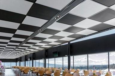 Teijin ultralight ceiling material