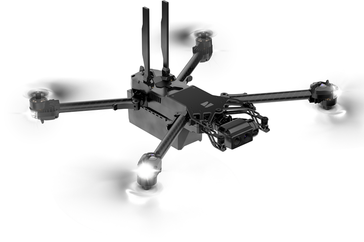 Skydio X2 drone with Arris composite parts