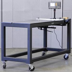 Exact Metrology Raytech Measuring Tables meets standard machine needs