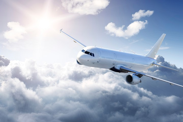 Widebody airplane