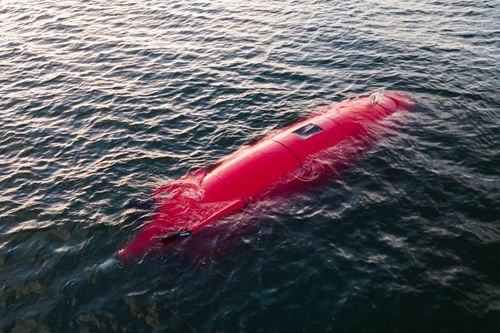 复合3D打印自主水下航行器