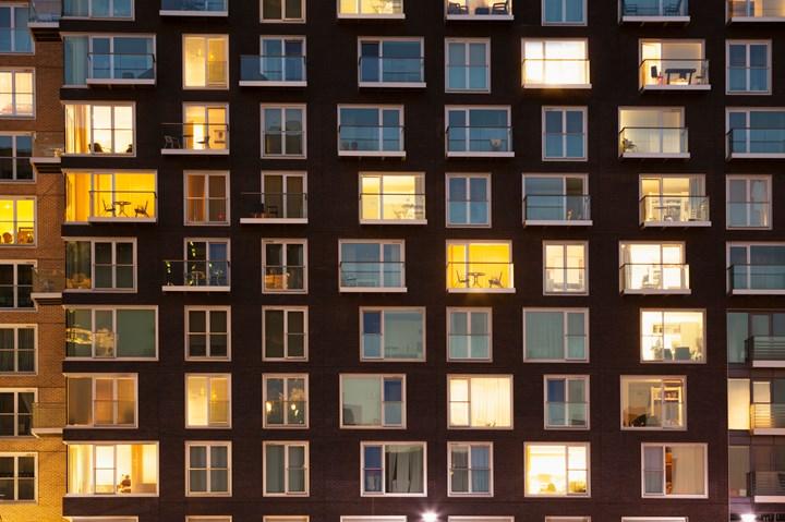 Stock image of windows.