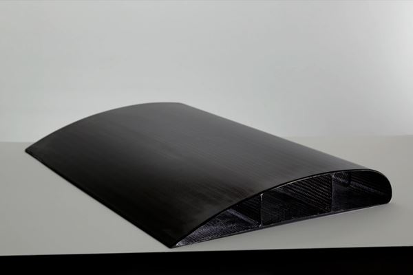 下一代空气复合材料的编织预制件和树脂输注