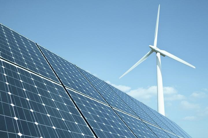 Renewable energy stock image.