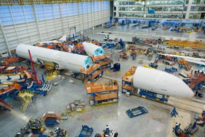Boeing conducts inspections of 787 composite inner fuselage skin
