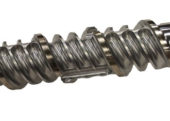 Extrusion: Two-Stage Screw Offers Distributive, Dissipative Mixing