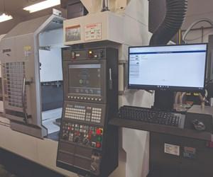 Las terminales en los centros de mecanizado de East Branch Engineering and Manufacturing ejecutan el software ERP ProShop, que les permite a los operadores de máquina documentar cada operación de mecanizado y su resultado.