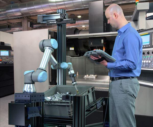 Recolección autónoma de contenedores para aplicaciones de mecanizado CNC image