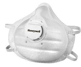 Máscaras N95, fabricadas por Honeywell, para atender la pandemia por coronavirus.