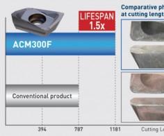Grados de inserto para acero inoxidable y aluminio, de Big Kaiser.