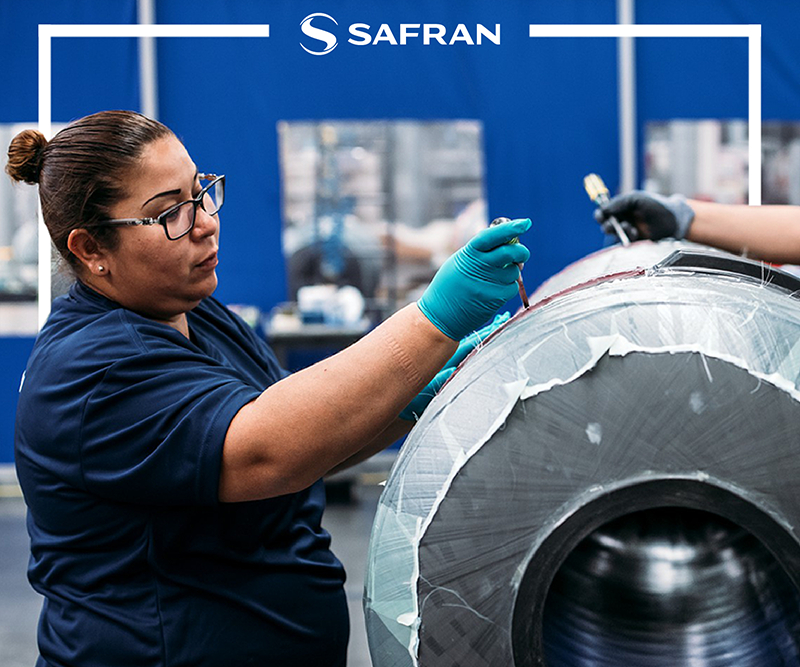 De acuerdo con ITA, el número de empresas aeroespaciales en México pasó de solo 112 empresas en 2009, a 330 en 2017. Foto: Safran.