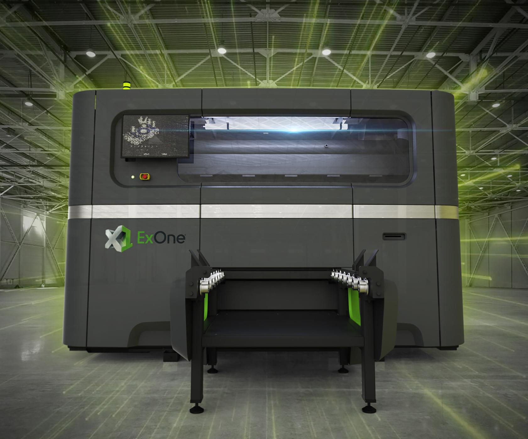 Impresora 3D X1 160Pro, de ExOne.