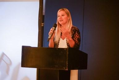 Florencia Vitale, vicepresidenta de la Cámara Argentina de la Máquina Herramienta y Tecnologías para la Producción (CARMAHE)