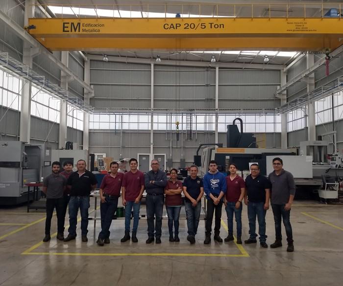 Actualmente trabajan en el Laboratorio de Manufactura Avanzada en Moldes, Troqueles y Herramentales CIATEQ San Luis Potosí 16 ingenieros y técnicos calificados